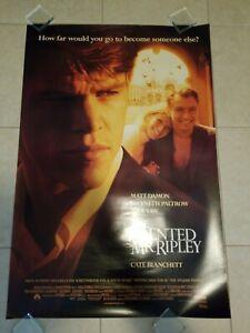 The Talented Mr Ripley movie poster  -  Matt Damon, Jude law, Gwyneth Paltrow