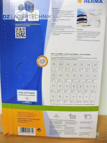 HERMA Universaletikett PREMIUM Etiketten Labels Klebeetiketten 48.3 x 16.9 mm