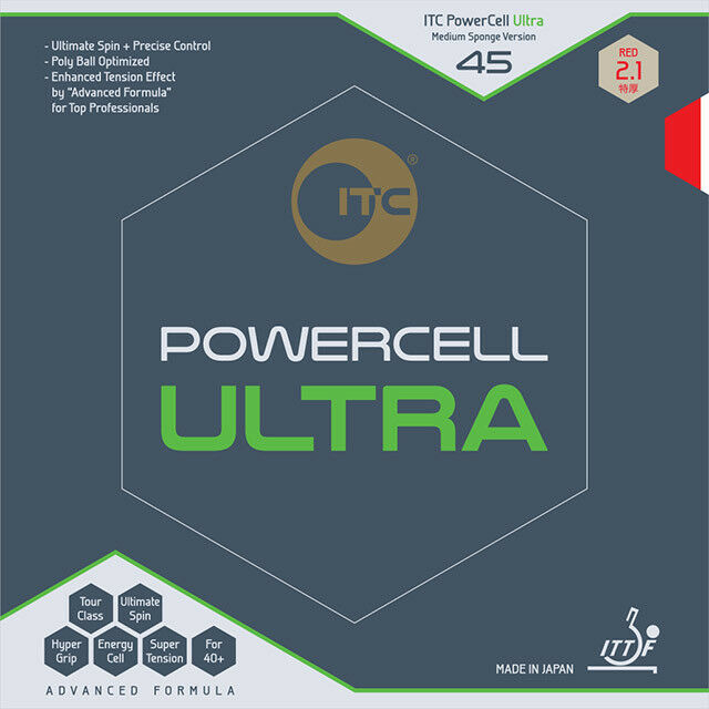 ITC Powercell Ultra 45 Ryu Seung Min Rubber Table Tennis Ping Pong
