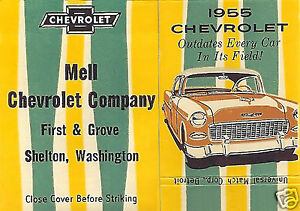 5X7 SHELTON WA.1st & GROVE St.MELL CHEVROLET DEALERSHIP 55 ...