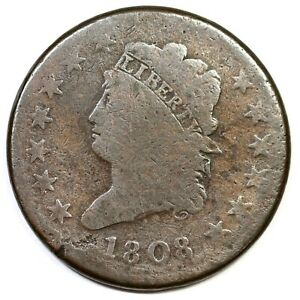 1808-S-278-R-3-Classic-Head-Large-Cent-Coin-1c