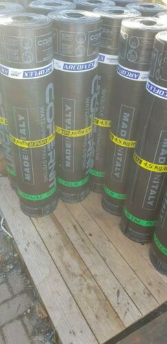 TORCH ON Roofing Felt SBS CHARCOAL Mineral RRP £75 HIGH GRADE 4.5mm Thick!