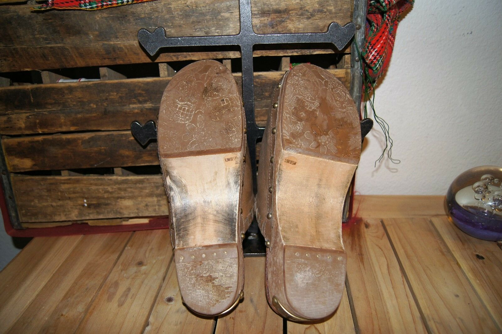 LUCKY BRAND Clogs 8.5 Peace CLOGS Size 8.5 LEATHER SHOES CLOGS 8.5 LUCKY SHOES LEATHER 8.5 a79bde
