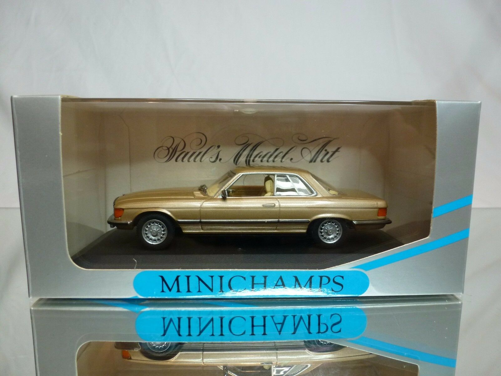 MINICHAMPS 33422 MERCEDES BENZ 450 SLC 1972-1980 - oro 1 43 - EXCELLENT IN scatola