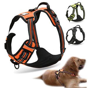 Sport-Dog-FreeMove-Hundegeschirr-Brustgeschirr-Softgeschirr-f-Hunde-Top-Quatitaet