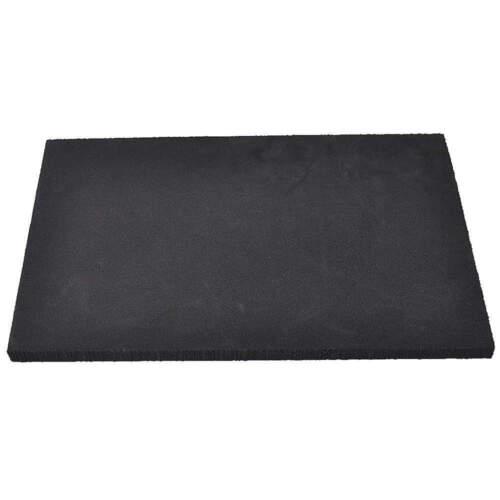 """Foam Sheet,48/"""" L,24/"""" W,1//2/"""",Black 1001337"""