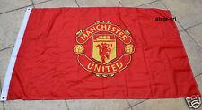 Manchester United Flag Banner 3x5 ft Reds England Premier Football Soccer