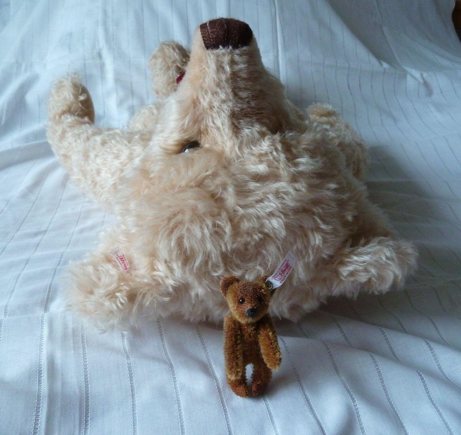 Steiff Teddy Teddy Teddy Ernst und Elsa 669682 66 cm + 9 cm Teddybär Bär XS 481 Nordamerika 6c167c