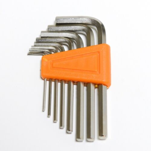 8 Pieces Hex key L wrench hand tool set Size 1.5 2 2.5 3 4 5 5.5 6