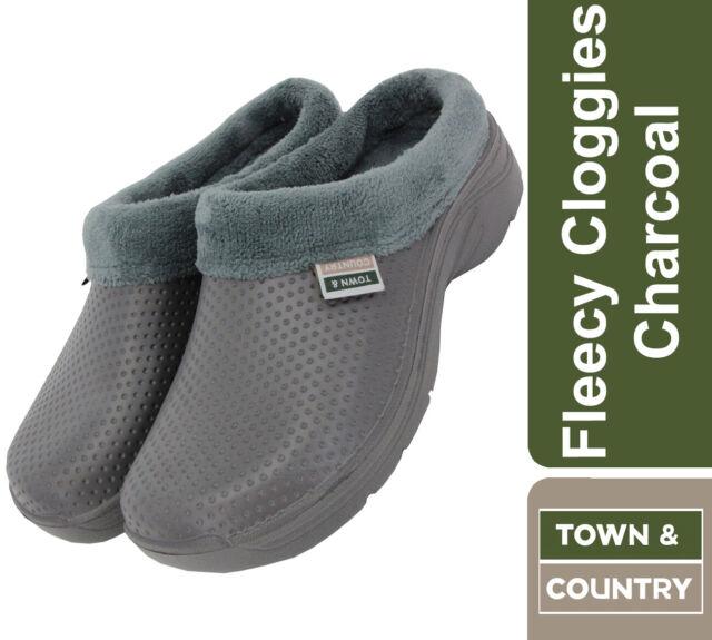 Town /& Country Damen Super Soft Clogs Fleecy /& Original Cloggies