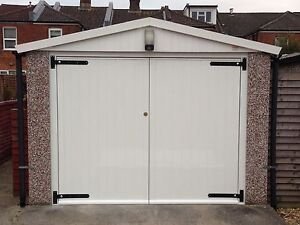 Side Hinged Hung Timber Wooden Garage Door Gates Barn