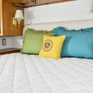 Ab Lifestyles Rv Mattress Pad Quilted 3 Camper Bunk Sizes Ebay