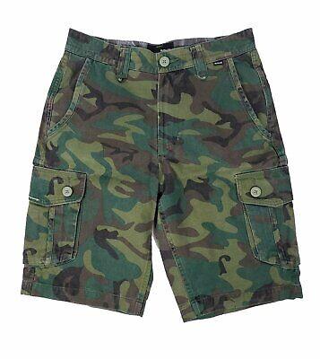 Mens, 33 Hurley Renegade Gray Cargo Shorts