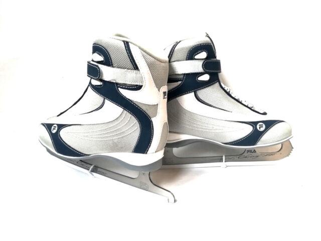 Fila Crissy whiteblue Damen Schlittschuh Eislaufen Softboot Gr. 38 Ice Skate