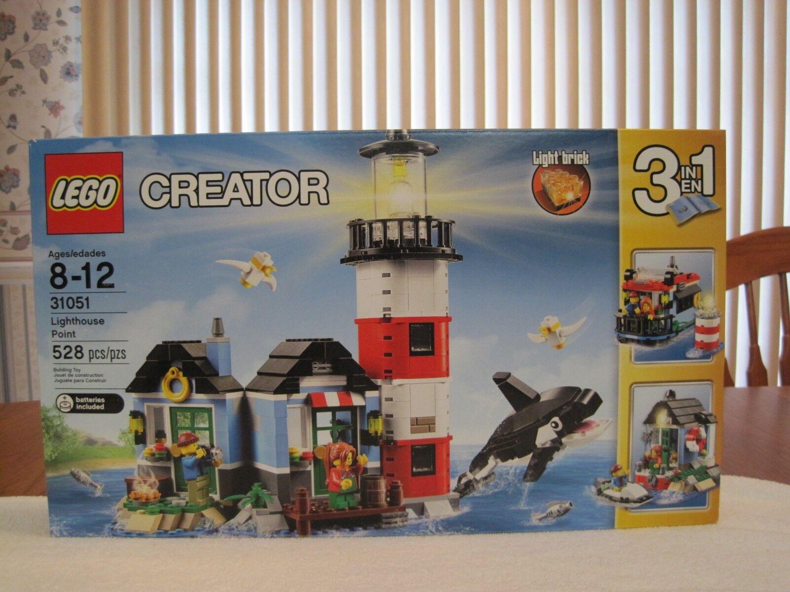 2016 Lego Creator Faro punto 3 en 1 -- Nuevo -- sellado de fábrica