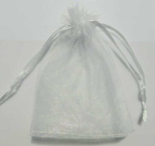 25//50//100pcs Sheer Organza Wedding Party Favor Gift Candy Bags Jewelry Pouches