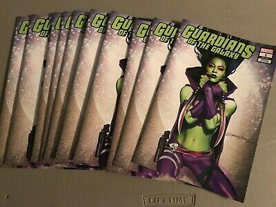 Guardians of the Galaxy #1 Greg Horn Gamora Variant Free Shipping! 2 COPIES!