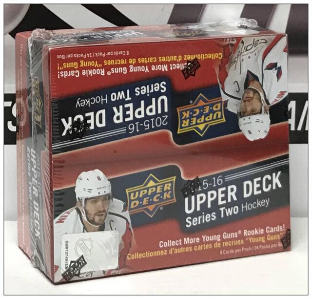 2015-16 Upper Deck Series 2 NHL Hockey Retail F/Sealed Box