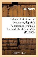 Tableau Historique des Beaux-Arts, Depuis la Renaissance Jusqu'a la Fin du...