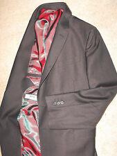 NWOT $1,495 VERRI ITALY Super 120 Virgin Wool slim Suit size US 44 EU 54