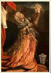 Scheda-di-artisti-arte-cartolina-034-Isenheim-altare-034-per-artista-Matthias-Foresta-Verde