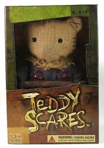 Teddy-Scares-Limited-Edition-Redmond-Gore-12-Inch-Bear-Stuffed-Goth-Horror-Plush