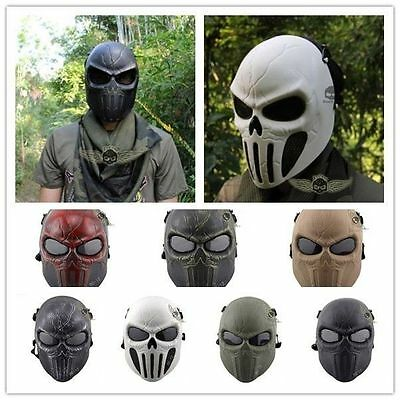 Tactical Military Skull Skeleton Mask Hunting Costume Halloween Hot sales