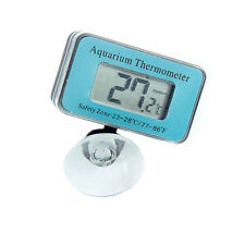 1× LCD Digital Anzeige Unterwasser Fisch Tank Aquarium Thermometer Saugnapf Neu