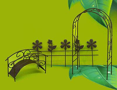Besorgt Mini Garten 7210 Für Schale Töpfe Terrasse Garten Wohnzimmer Beet Metall Fahrrad üBereinstimmung In Farbe