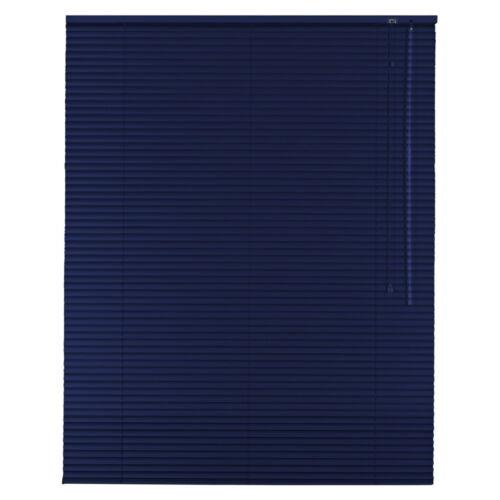 Alu Jalousie Aluminium Jalousette Jalusie Schalusie Höhe 50 cm blau