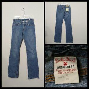 Kleidung & Accessoires Hilfreich A5396 Lucky Brand Blau Usa Gemacht Cool Jeans Damen 0/25