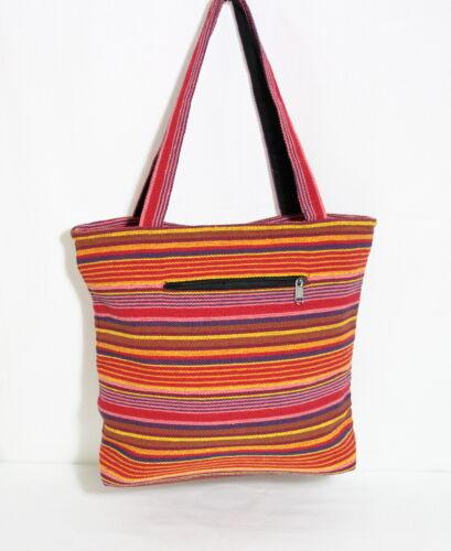 Sommer Tasche Vintage Handtasche Tragetasche Schöne Baumwolle aus Nepal ATN-01