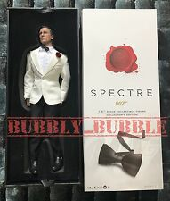 IN STOCK 1/6 James Bond Daniel Craig SPECTRE White Tuxedo Full Set SHIP FROM USA