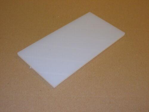 1 mm Nylon 6 foglio estruso 300 mm x 200 mm ENGINEERING-Wear Strisce-Rasamenti-ecc.