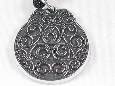 Dana/'s Celtic Knot Enlightenment Earth Goddess Handmade pewter pendant