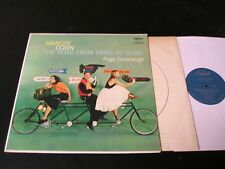 Page Cavanaugh - Swingin' Down The Road - ORIGINAL 1958 Jazz LP - Barney Kessel!