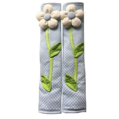 Polka Pastoral Flower Them Refrigerator Door Handle Cover Case Home Decor WA