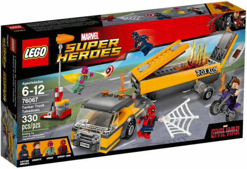 LEGO Marvel Super Heroes Tanker Truck Takedown FREE US SHIPPING