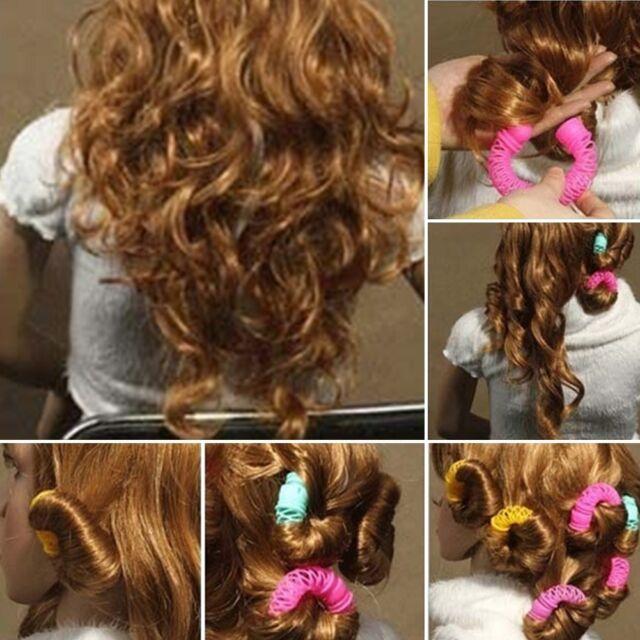 Hairdress Magic Bendy Hair Styling Roller Curler Spiral Curls Diy