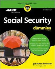 Social Security for Dummies by Jonathan Peterson (2017, Paperback)