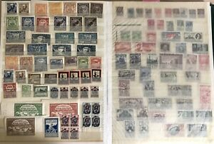 Russia-1918-1940s-Collection-of-Early-Soviet-Mint-Stamps
