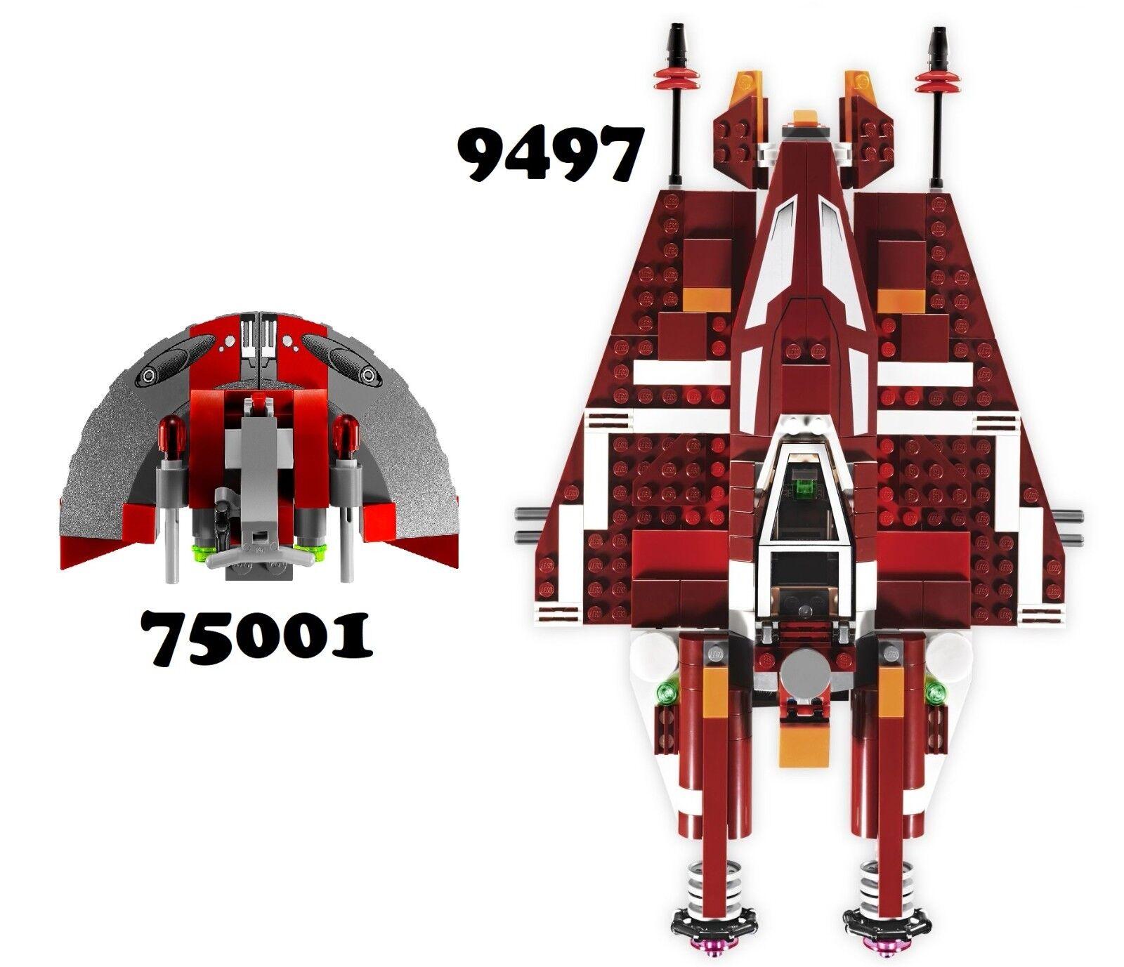 NUOVO   LEGO estrella guerras 9497 & 75001 Combo Set  NO Minicifras  per il commercio all'ingrosso