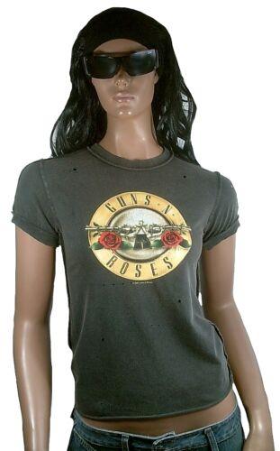 Vintage Amplified Shirt 36 Rose M Forato Rock Guns Tamburo Logo Ufficiale N Star rqr7xA8