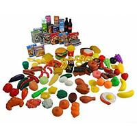 Giant 150 Pc. Great Big Grocery - Ultimate Kids Play Food Set