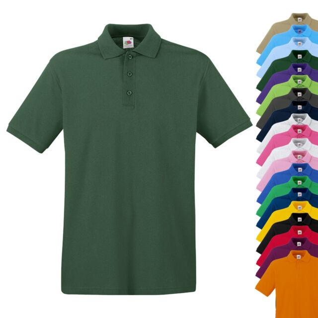 NEU - Fruit of the Loom Premium Polo Shirt - Herren Polo - SONDERPOSTEN SALE%