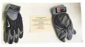 Details About Xavier Adibi Autographed Nike Football Gloves Virginia Tech Coa
