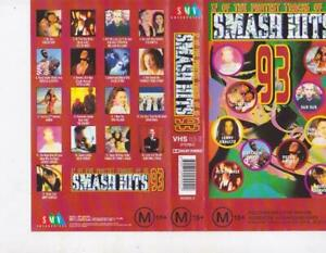 SMASH-HITS-93-PAL-VHS-VIDEO-A-RARE-FIND
