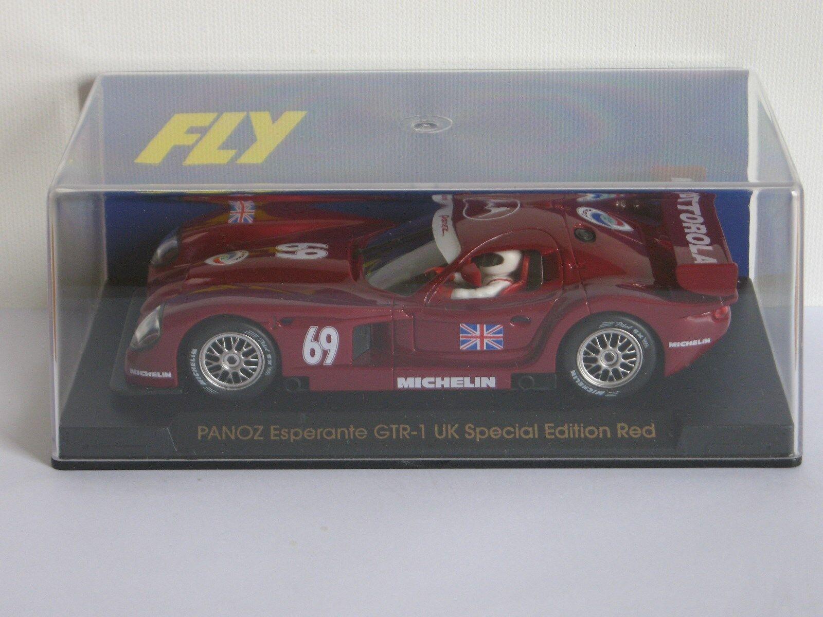 FLY Car Panoz Esperante GTR-1 UK Special Edition Red Ref. E62