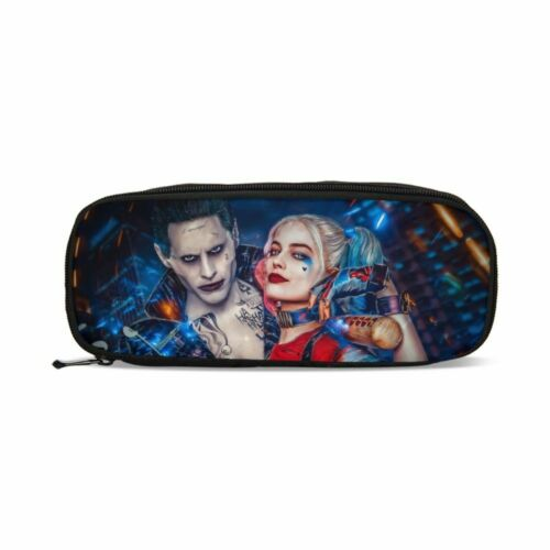 Suicide Squad Harley Quinn Kids Backpack School Bag Lunch Bag Pencil Case Lot
