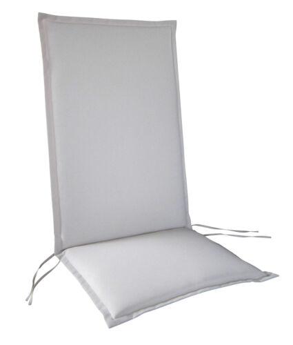RRR schienale alto obblighi con lampo mobili da giardino IMBOTTITURA cuscino sedia da giardino
